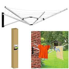 Heavy Duty Rotary Washing Lines Honeydew